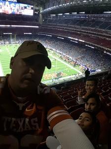 Gilbert attended 2017 Texas Bowl - Texas Longhorns vs. Missouri Tigers - NCAA Football on Dec 27th 2017 via VetTix