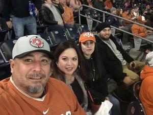 venancio attended 2017 Texas Bowl - Texas Longhorns vs. Missouri Tigers - NCAA Football on Dec 27th 2017 via VetTix