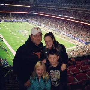 Joshua attended 2017 Texas Bowl - Texas Longhorns vs. Missouri Tigers - NCAA Football on Dec 27th 2017 via VetTix