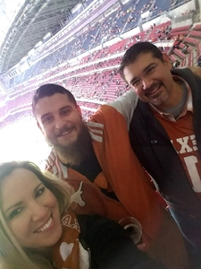 Ray attended 2017 Texas Bowl - Texas Longhorns vs. Missouri Tigers - NCAA Football on Dec 27th 2017 via VetTix