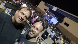 Sam attended Sammy Hagar - Live in Concert on Sep 10th 2017 via VetTix