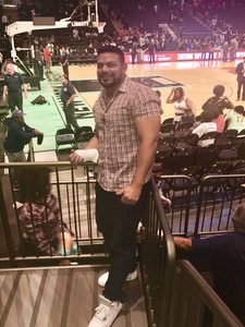 Charles attended New York Liberty vs. Washington Mystics - WNBA Playoffs on Sep 10th 2017 via VetTix