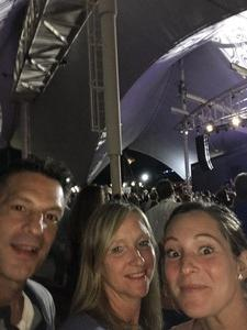 Pat attended Pat Benatar and Neil Giraldo With Toto on Sep 12th 2017 via VetTix