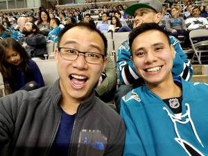 Thien attended San Jose Sharks vs. Las Vegas Golden Knights - NHL Preseason on Sep 21st 2017 via VetTix