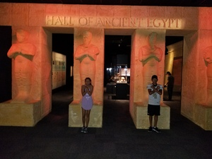 william attended Houston Museum of Natural Science on Oct 7th 2017 via VetTix