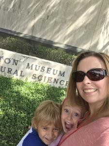 Tanya attended Houston Museum of Natural Science on Oct 7th 2017 via VetTix