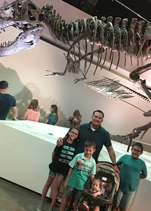 Adam attended Houston Museum of Natural Science on Oct 7th 2017 via VetTix