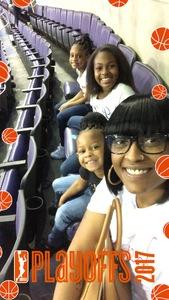 Shaneika attended Washington Mystics vs. Minnesota Lynx - WNBA - Playoff Game! on Sep 17th 2017 via VetTix