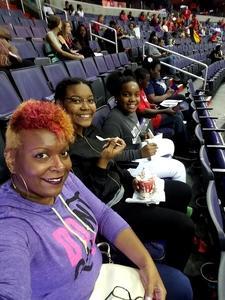 Alysha attended Washington Mystics vs. Minnesota Lynx - WNBA - Playoff Game! on Sep 17th 2017 via VetTix