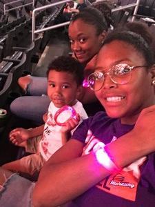 Taquana attended Washington Mystics vs. Minnesota Lynx - WNBA - Playoff Game! on Sep 17th 2017 via VetTix