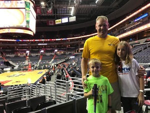 Nathaniel attended Washington Mystics vs. Minnesota Lynx - WNBA - Playoff Game! on Sep 17th 2017 via VetTix