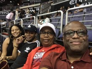 Michael attended Washington Mystics vs. Minnesota Lynx - WNBA - Playoff Game! on Sep 17th 2017 via VetTix