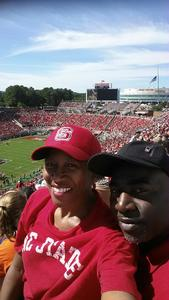 Michael E. attended NC State Wolfpack vs. Syracuse - NCAA Football - Military Appreciation Game on Sep 30th 2017 via VetTix