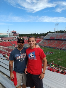 Joe attended NC State Wolfpack vs. Syracuse - NCAA Football - Military Appreciation Game on Sep 30th 2017 via VetTix