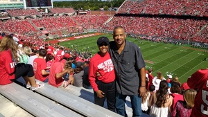Lolita attended NC State Wolfpack vs. Syracuse - NCAA Football - Military Appreciation Game on Sep 30th 2017 via VetTix