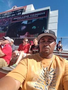 Zach M. attended NC State Wolfpack vs. Syracuse - NCAA Football - Military Appreciation Game on Sep 30th 2017 via VetTix