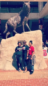 Teresa attended NC State Wolfpack vs. Syracuse - NCAA Football - Military Appreciation Game on Sep 30th 2017 via VetTix