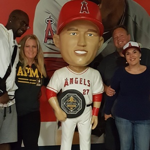 Hollie attended Los Angeles Angels vs. Cleveland Indians - MLB on Sep 20th 2017 via VetTix