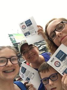 Bel attended Texas Rangers vs. Oakland Athletics - MLB on Sep 29th 2017 via VetTix