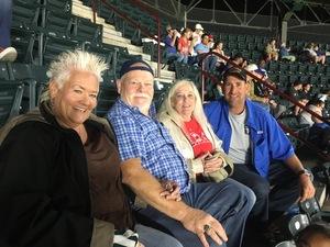 christopher attended Texas Rangers vs. Oakland Athletics - MLB on Sep 29th 2017 via VetTix