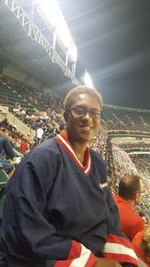 Tiffany attended Texas Rangers vs. Oakland Athletics - MLB on Sep 29th 2017 via VetTix