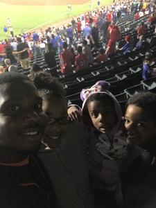 Jenkins Family attended Texas Rangers vs. Oakland Athletics - MLB on Sep 29th 2017 via VetTix