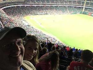 ROB attended Texas Rangers vs. Oakland Athletics - MLB on Sep 29th 2017 via VetTix