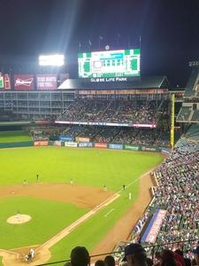 Elton attended Texas Rangers vs. Oakland Athletics - MLB on Sep 29th 2017 via VetTix
