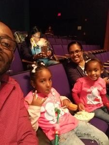 SSG Kile Jackson attended Peppa Pig Live - Evening Show on Oct 7th 2017 via VetTix