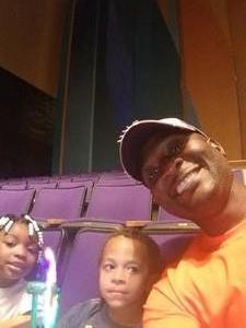 Jermaine attended Peppa Pig Live - Evening Show on Oct 7th 2017 via VetTix