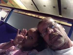 Theron attended Peppa Pig Live - Evening Show on Oct 7th 2017 via VetTix