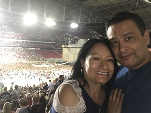 Alejandro attended U2 the Joshua Tree Tour 2017 - Opening: Beck - Live in Concert on Sep 19th 2017 via VetTix