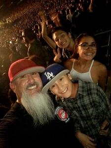 Miguel attended Green Day - Revolution Radio Tour on Sep 16th 2017 via VetTix