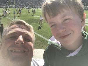 Andrew attended Michigan State Spartans vs. Iowa - NCAA Football on Sep 30th 2017 via VetTix