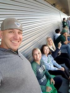 Christopher attended Michigan State Spartans vs. Iowa - NCAA Football on Sep 30th 2017 via VetTix