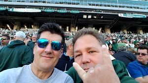Mark attended Michigan State Spartans vs. Iowa - NCAA Football on Sep 30th 2017 via VetTix