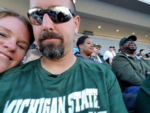 Michael attended Michigan State Spartans vs. Iowa - NCAA Football on Sep 30th 2017 via VetTix