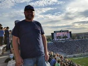 Marcus attended Michigan State Spartans vs. Indiana - NCAA Football on Oct 21st 2017 via VetTix