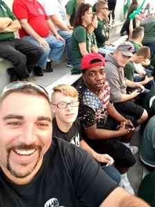 Steven attended Michigan State Spartans vs. Indiana - NCAA Football on Oct 21st 2017 via VetTix