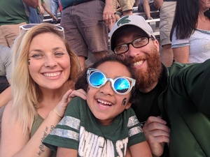 Luke attended Michigan State Spartans vs. Indiana - NCAA Football on Oct 21st 2017 via VetTix