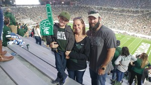 Daniel attended Michigan State Spartans vs. Indiana - NCAA Football on Oct 21st 2017 via VetTix