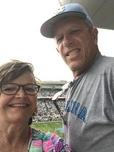 Rob attended University of North Carolina Tar Heels vs. Notre Dame - NCAA Football on Oct 7th 2017 via VetTix