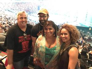 Cameron attended Soul2Soul Tour With Tim McGraw and Faith Hill on Sep 29th 2017 via VetTix