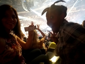 Ala attended Soul2Soul Tour With Tim McGraw and Faith Hill on Sep 29th 2017 via VetTix