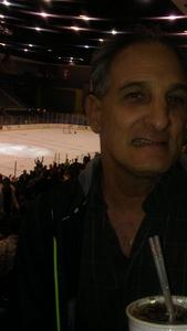 Jeffrey attended Tucson Roadrunners vs. San Jose Barracuda - AHL on Mar 20th 2018 via VetTix