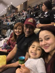 Josue attended Tucson Roadrunners vs. San Jose Barracuda - AHL on Mar 20th 2018 via VetTix