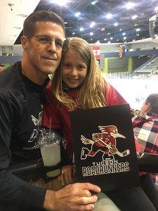 Brett attended Tucson Roadrunners vs. San Jose Barracuda - AHL on Mar 20th 2018 via VetTix