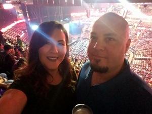 Gerald attended Soul2Soul Tour With Tim McGraw and Faith Hill on Oct 5th 2017 via VetTix