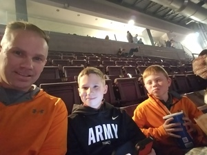 David attended Big Church Night Out With Newsboys on Oct 5th 2017 via VetTix