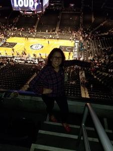 Karol attended Brooklyn Nets vs. Atlanta Hawks - NBA on Oct 22nd 2017 via VetTix
